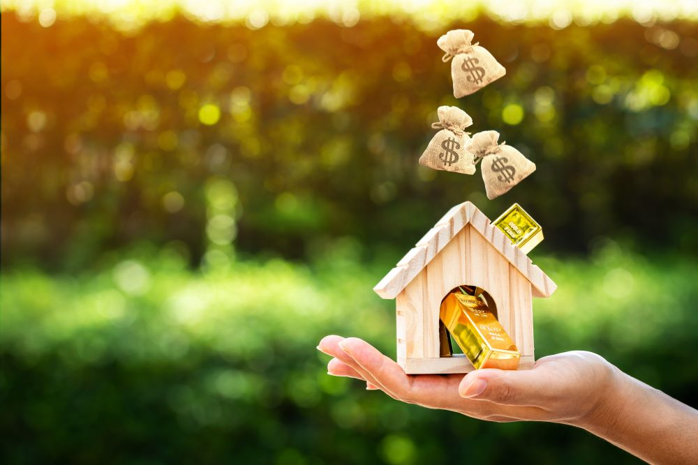 How to make money off a rental property